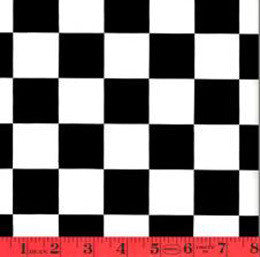 Checkered Contact Wallpaper in Black and White by Burke Decor