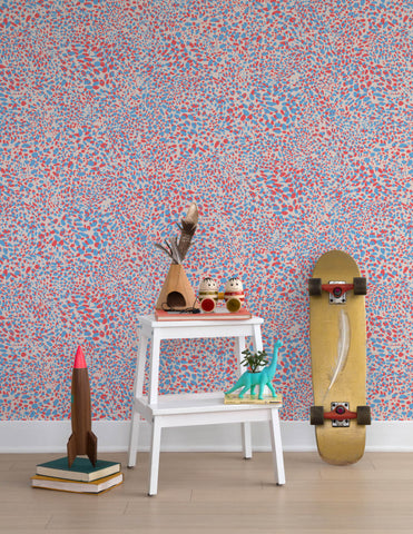 Cheetah Vision Wallpaper in Candy design by Aimee Wilder