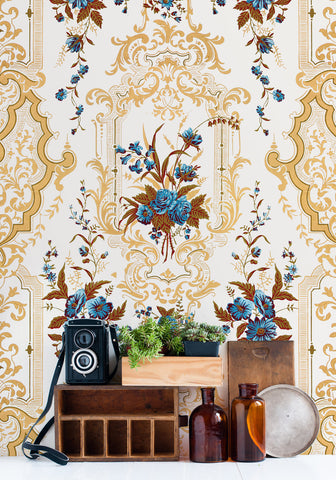 Chevallier Wallpaper from the Erstwhile Collection by Milton & King