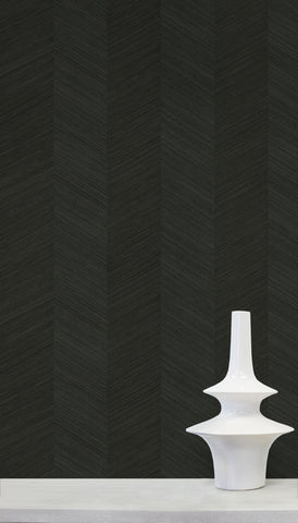 Chevy Hemp Wallpaper in Nori from the More Textures Collection by Seabrook Wallcoverings