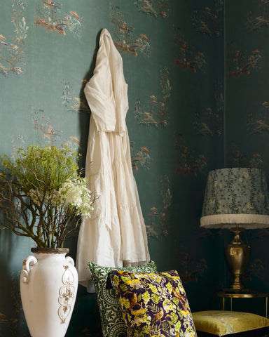 Chinoiserie Wallpaper from the Wallpaper Compendium Collection by Mind the Gap