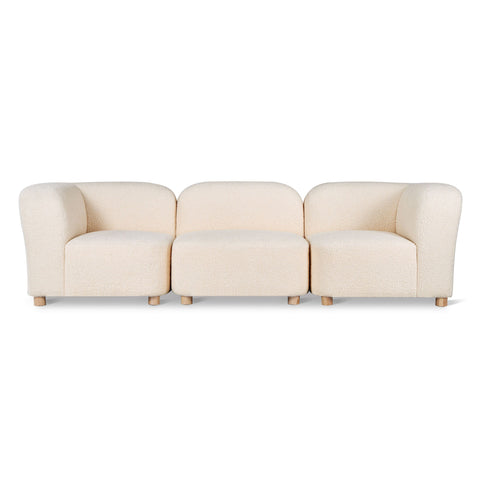 Circuit Modular 3-Pc Sofa in Various Colors by Gus Modern