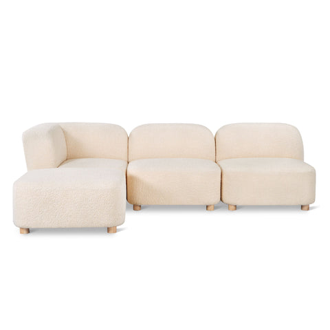 Circuit Modular 4-Pc Sectional in Various Colors by Gus Modern