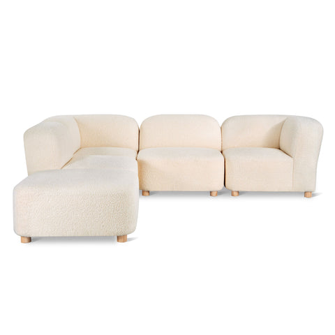 Circuit Modular 5-Pc Sectional in Various Colors by Gus Modern