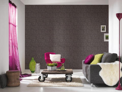 Cities Wallpaper in Black design by BD Wall