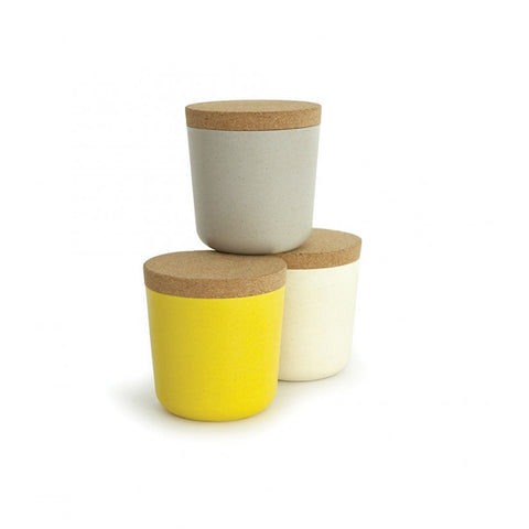 Claro Bamboo Small Storage Jar Set design by EKOBO