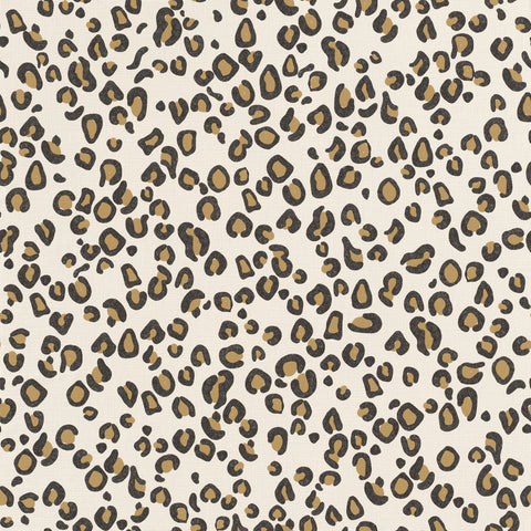 Classic Simple Leopard Print Wallpaper by Walls Republic