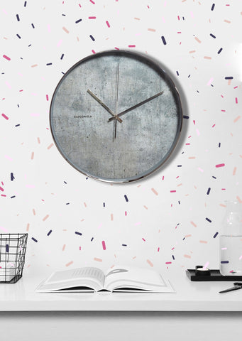 Structure Cement Clock