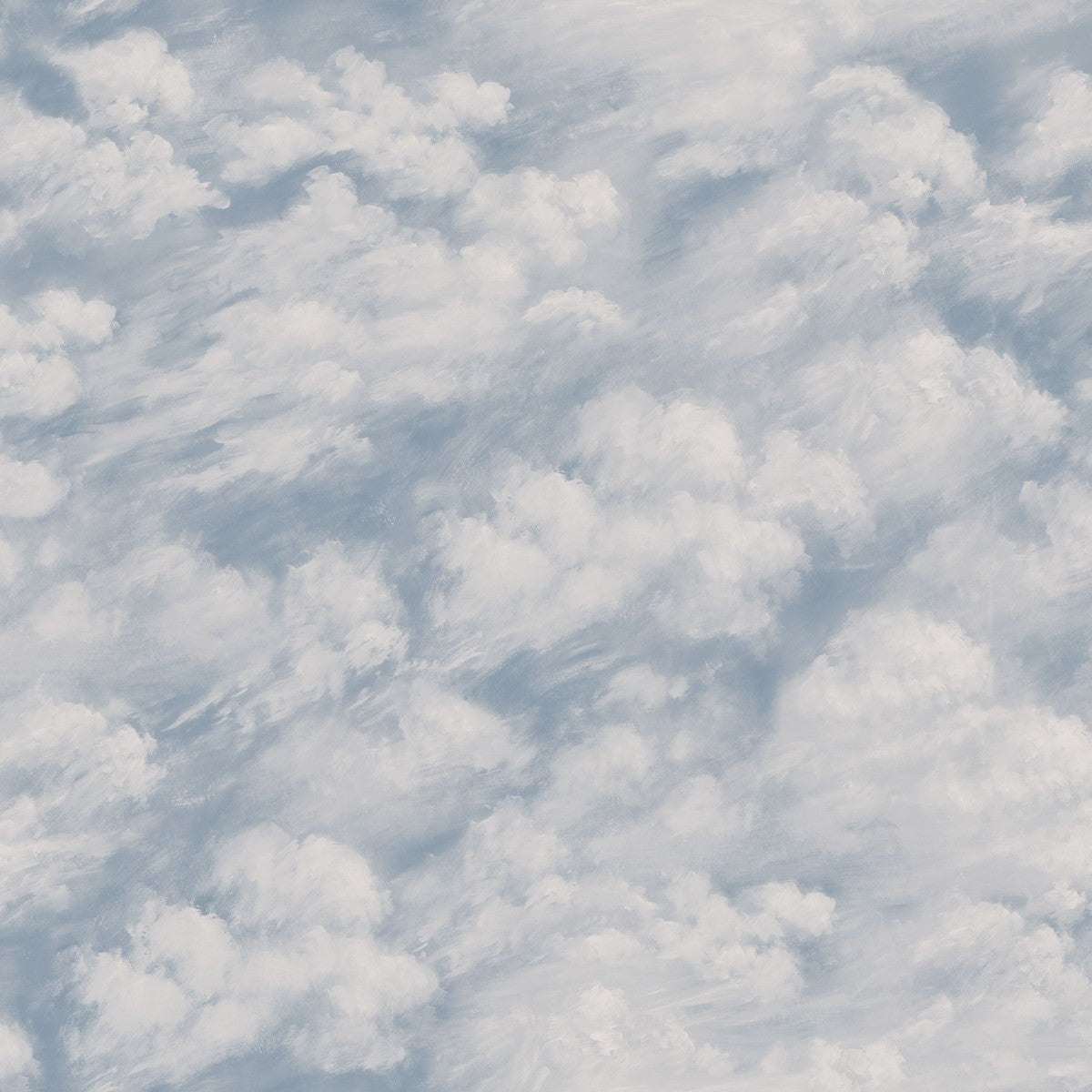 Clouds Self Adhesive Wallpaper In Sky Blue Design By Tempaper Burke Decor