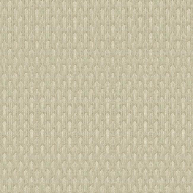 Club Diamond Wallpaper in Beige from the Deco Collection by Antonina Vella for York Wallcoverings