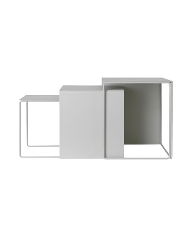 Cluster Tables - Light Grey by Ferm Living