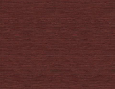 Coastal Hemp Wallpaper in Cabernet from the Texture Gallery Collection by Seabrook Wallcoverings