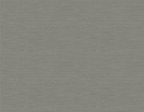 Coastal Hemp Wallpaper in Slate and Shine from the Texture Gallery Collection by Seabrook Wallcoverings