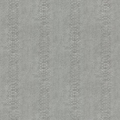 Cobra Wallpaper in Charcoal and Black from the Urban Oasis Collection by York Wallcoverings