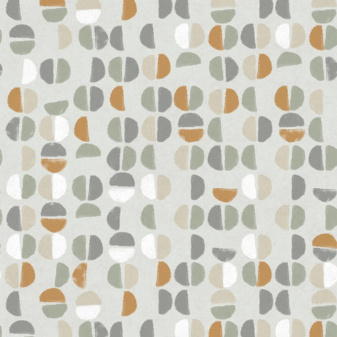 Coffee Beans Self-Adhesive Wallpaper in Sienna design by Tempaper
