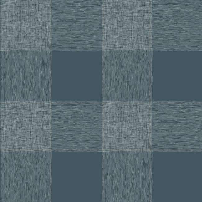 Common Thread Wallpaper in Blues from Magnolia Home Vol. 2 by Joanna Gaines