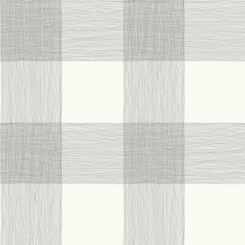 Common Thread Peel & Stick Wallpaper in Cream and Black by Joanna Gaines for York Wallcoverings