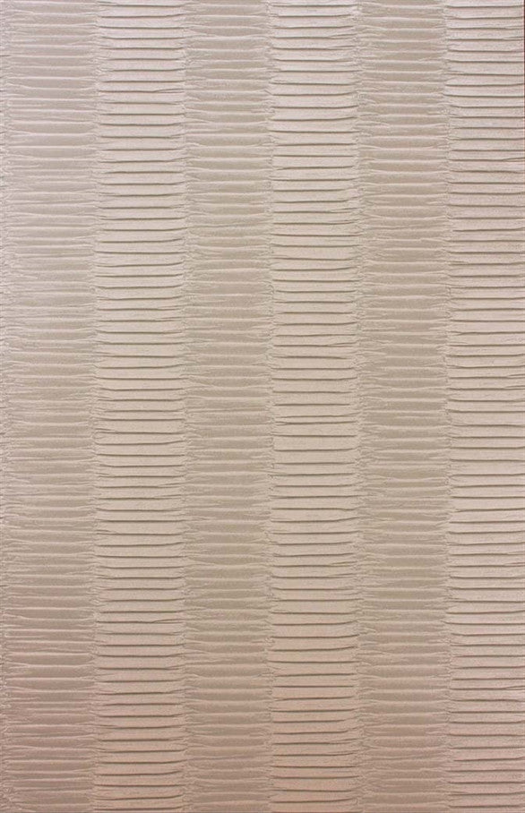 Concertina Wallpaper in Beige by Nina Campbell for Osborne & Little