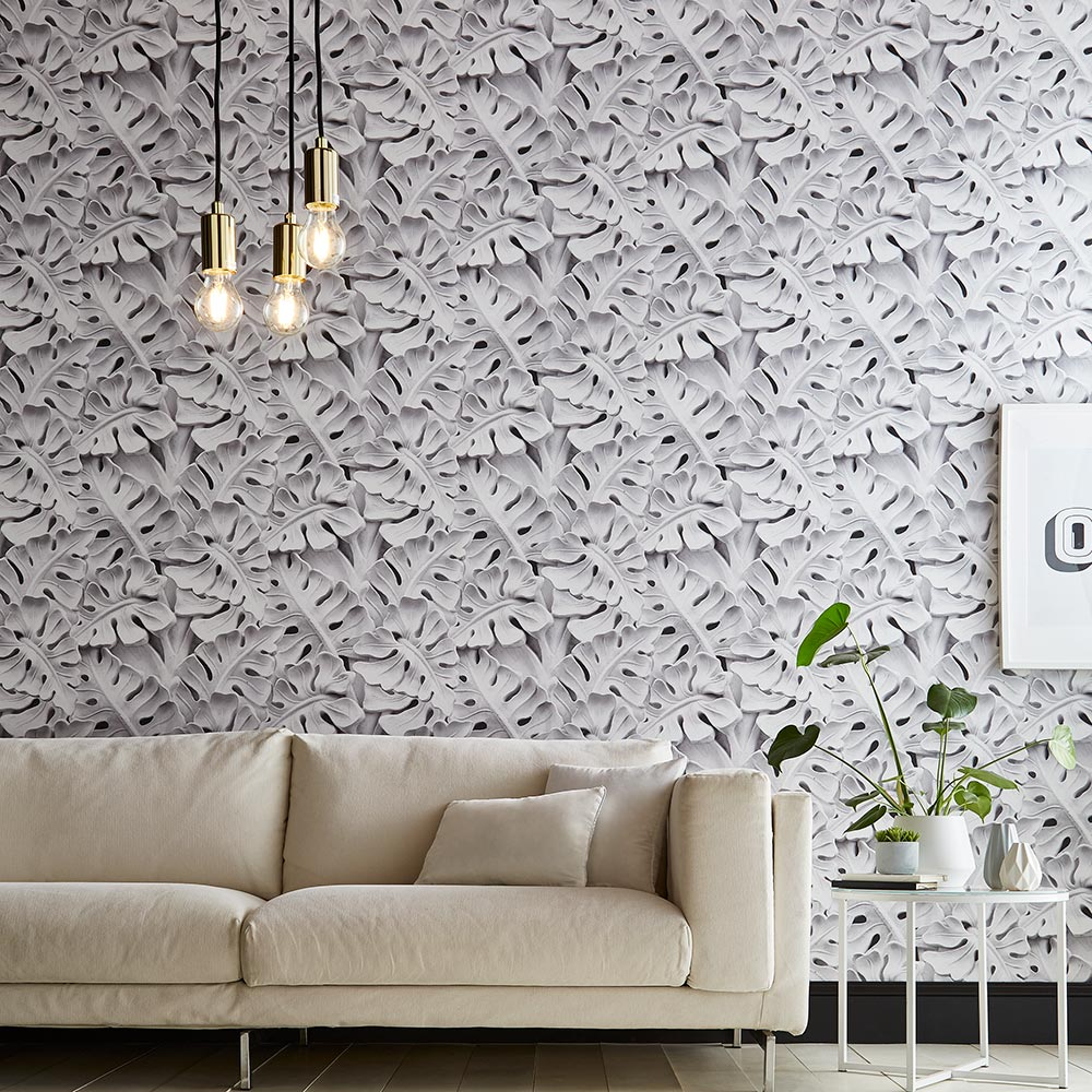 Concrete Jungle Wallpaper from the Exclusives Collection by Graham & Brown