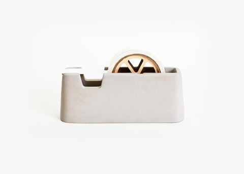 Concrete Tape Dispenser Large in Gray design by Areaware