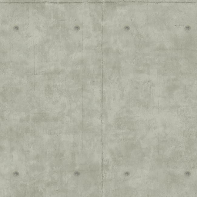 Concrete Wallpaper In Grey From The Magnolia Home