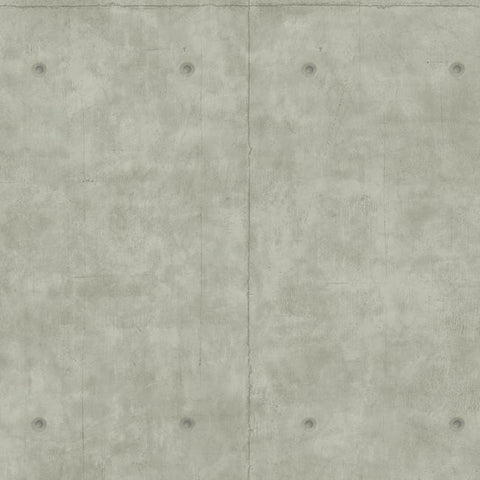 Concrete Wallpaper in Grey from the Magnolia Home Collection by Joanna Gaines for York Wallcoverings