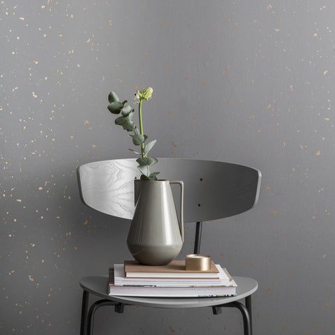 Confetti Wallpaper in Grey design by Ferm Living