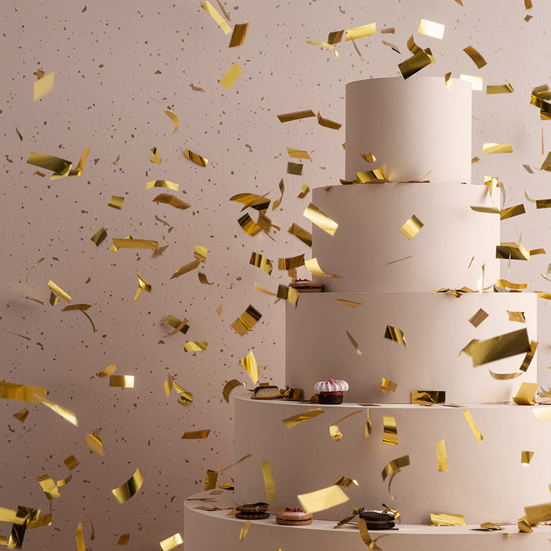 Confetti Wallpaper in Rose by Ferm Living