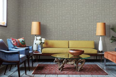 Conservation Wallpaper from the Moderne Collection by Stacy Garcia for York Wallcoverings