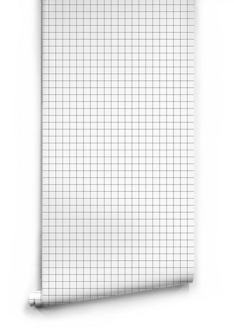 Contact Grid Wallpaper by Ingrid + Mika for Milton & King