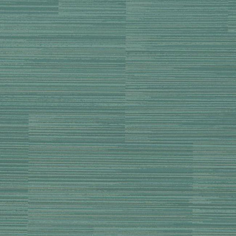 Convergence Wallpaper in Blue-Green from the Moderne Collection by Stacy Garcia for York Wallcoverings