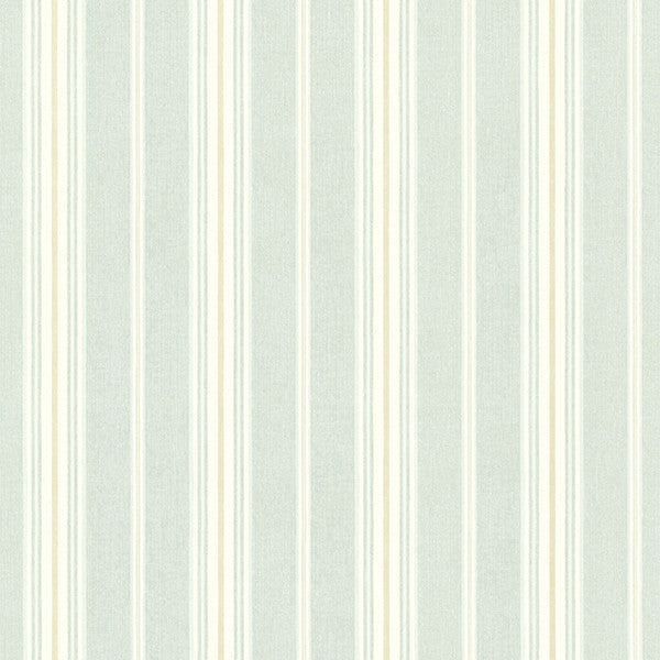 Sample Cooper Green Cabin Stripe Wallpaper from the Seaside Living Collection by Brewster Home Fashions