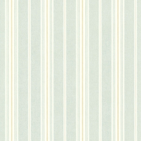 Cooper Green Cabin Stripe Wallpaper from the Seaside Living Collection by Brewster Home Fashions
