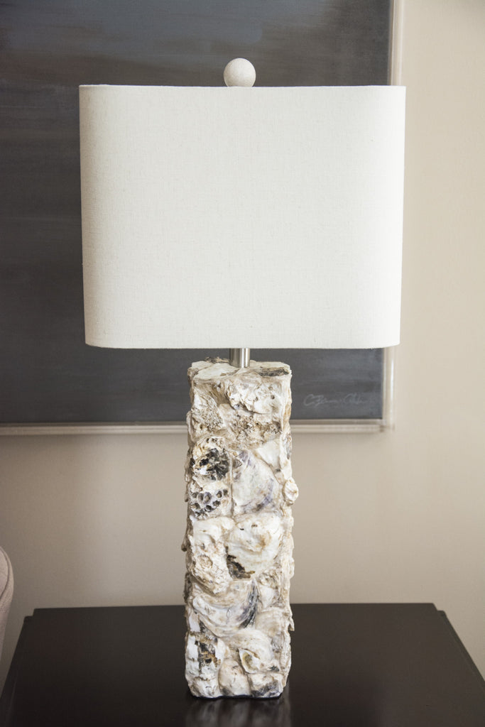 Paradise Shell Table Lamp design by Couture Lamps