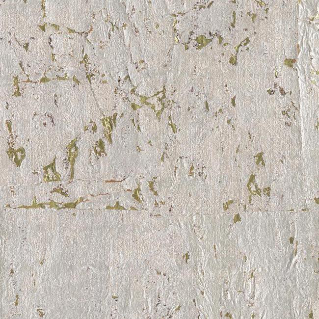 Sample Cork Wallpaper in Pearl design by Candice Olson for York Wallcoverings
