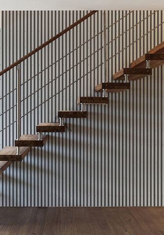Corrugated Iron Wallpaper design by Milton & King