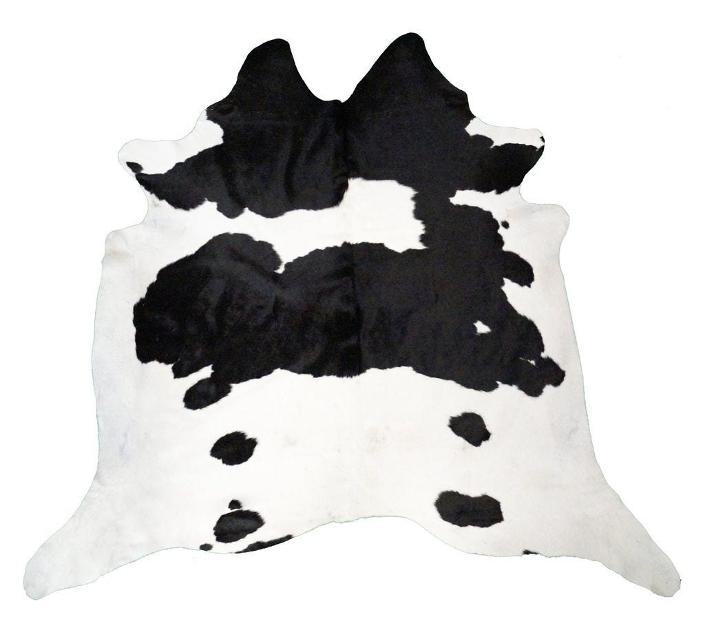 Black & White Cowhide Rug design by BD Hides