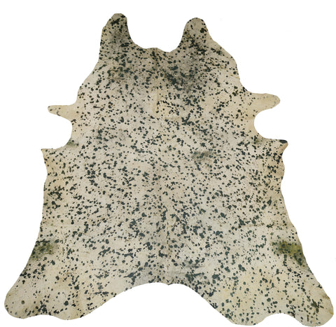 Emerald Acid Wash Cowhide Rug design by BD Hides