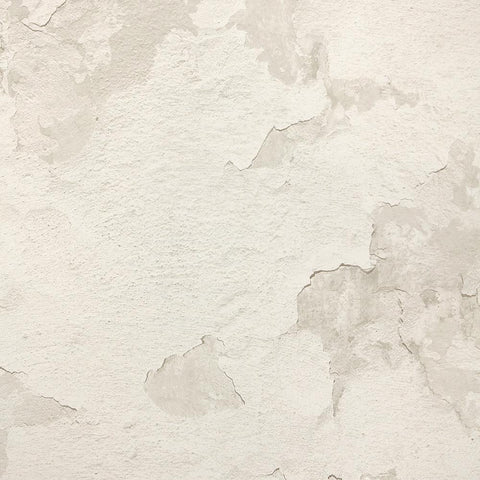 Cracked Plaster Wallpaper in Beige from the Precious Elements Collection by Burke Decor