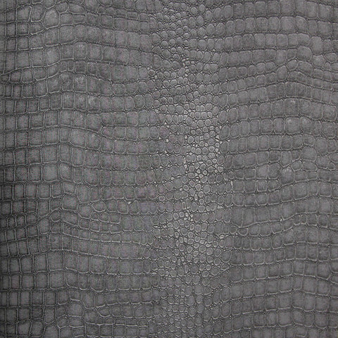 Crocodile Wallpaper in Black design by Graham & Brown