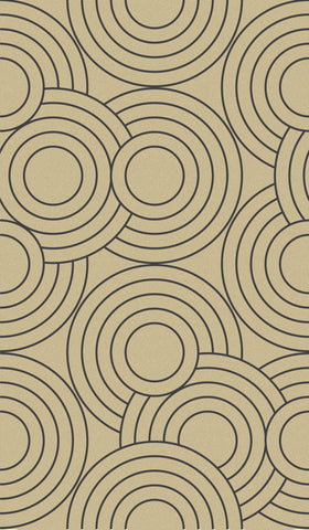 Crop Circles Wallpaper in Eclipse design by Aimee Wilder