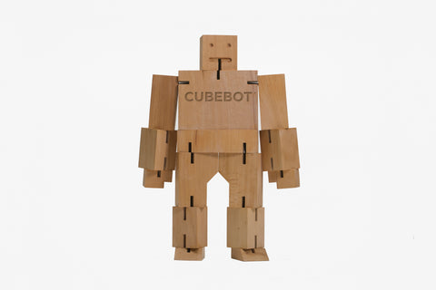 Cubebot Extra Large w/ Logo design by Areaware
