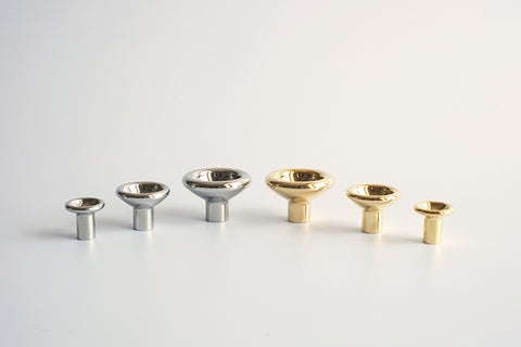 Concave Knob in Various Colors & Sizes by FS Objects
