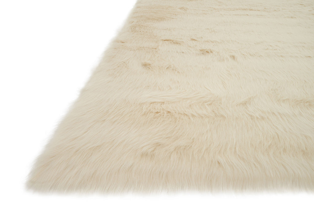Danso Shag Rug in Bone design by Loloi