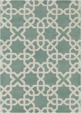 Davin Collection Hand-Tufted Area Rug
