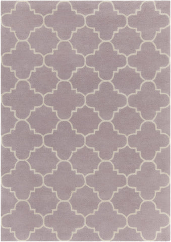 Davin Collection Hand-Tufted Area Rug in Light Purple & White design by Chandra rugs