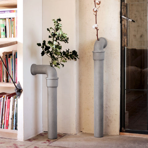 Urban Garden - Pipeline Stem Vase in Various Sizes by Lyon Béton