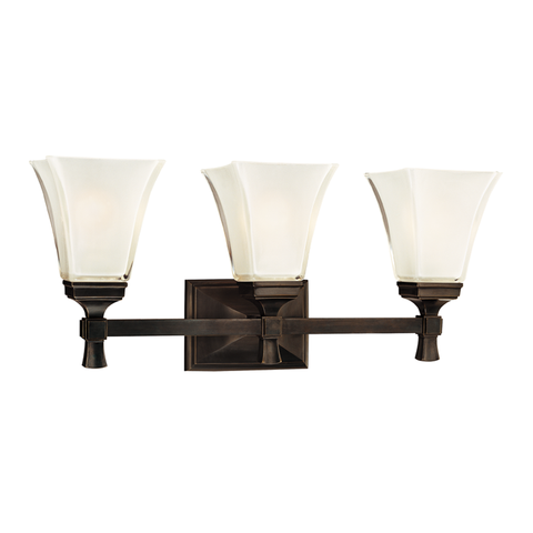 Kirkland 3 Light Bath Bracket by Hudson Valley Lighting