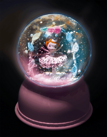 Snowglobe Nightlights Ballerina