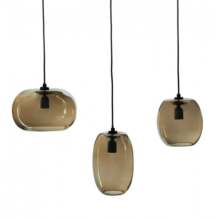 Emboss Pendant in Various Colors